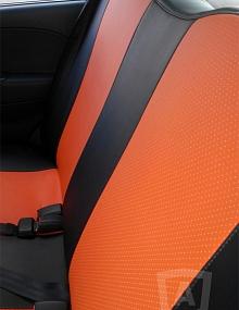 Вариант расцветки и материала авточехлов для Toyota Carina E вариант 11